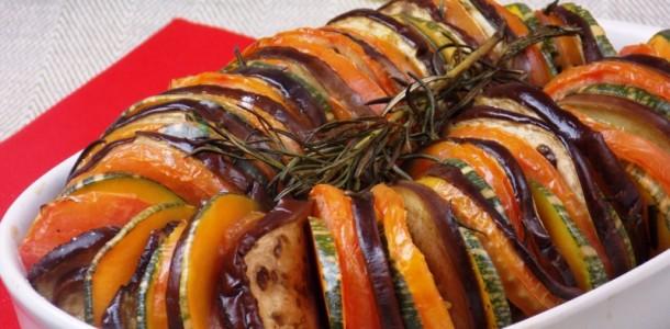 Vegetais ao Forno