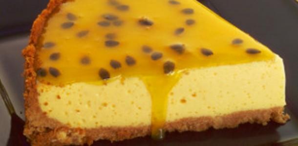 Receita Torta fácil de torta de Maracujá