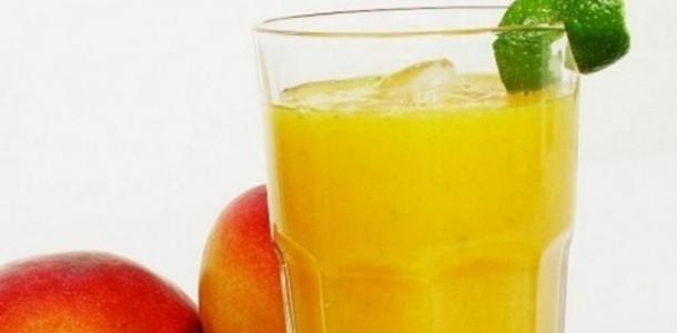 suco de manga com limão