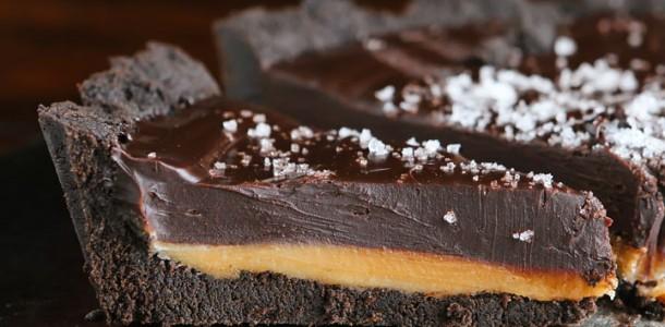 Torta de Oreo com Caramelo