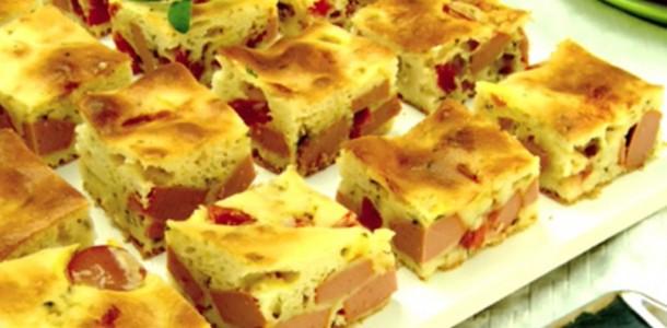torta de salsicha
