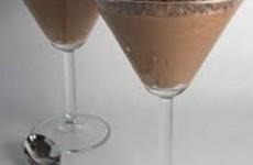 mousse trufado de chocolate
