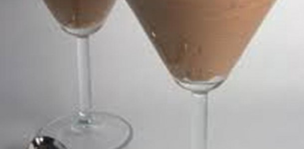 mousse trufado de chocolate