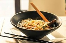 Sopa Chinesa com Carne