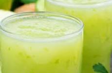 Suco de Limão, Gengibre e Hortelã