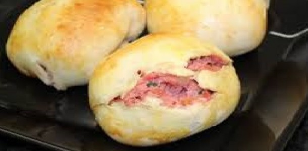 pão de batata fácil recheado