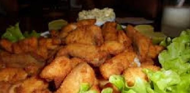 peixe empanado ao molho tártaro