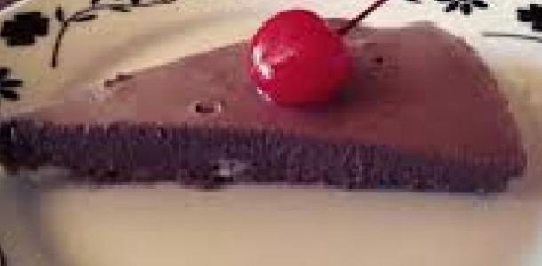 bavaroise de chocolate com coco