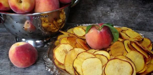 chips de pêssego