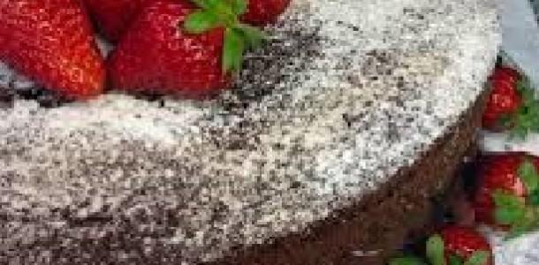 Naked Cake de Chocolate