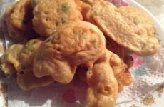 bolinhos de camarão fritos