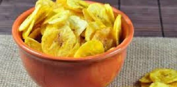 Chips de Banana ou Maçã