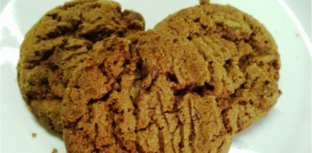 Cookie Integral de Chocolate com Canela