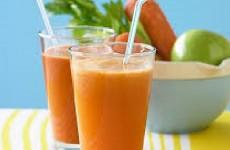 suco de cenoura misto