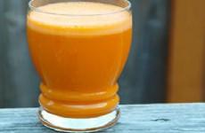 suco misto de cenoura