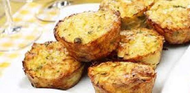 Muffins de Arroz com Queijo