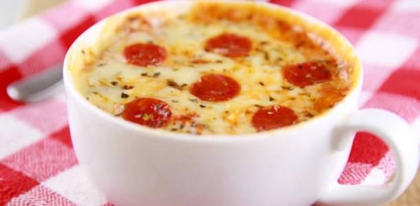 pizza de caneca