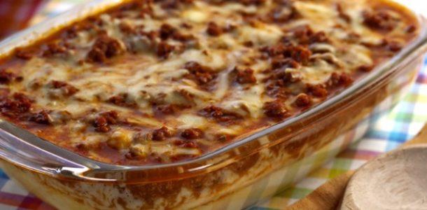guisado com queijo