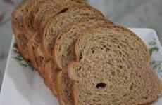 Receita pão feito em casa fit