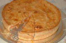 torta de massa folhada