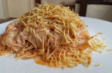 lasanha de queijo