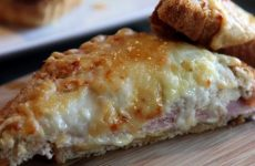 Croque Monsieur Francês