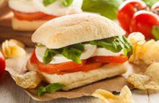 sanduiche caprese