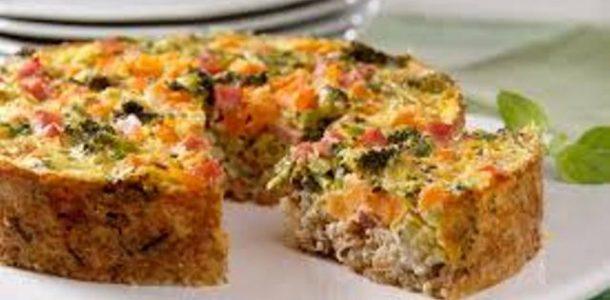 torta de legumes sem gluten