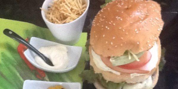 hambúrguer divino caseiro