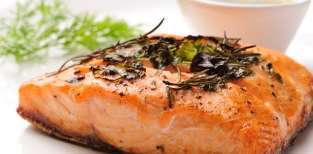 salmão com ervas