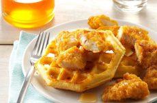 Frango e Waffles