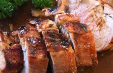 Filé de porco grelhado