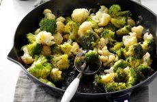 couve-flor com brócolis