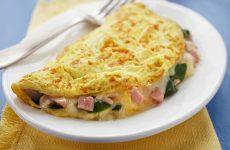 receita de omelete