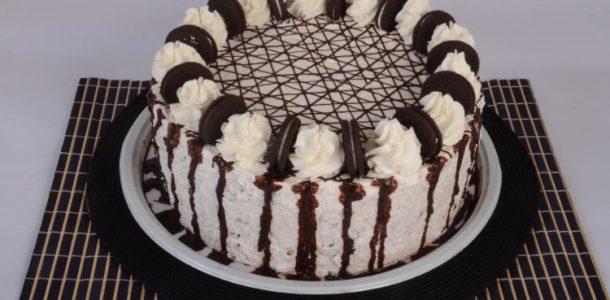 Receita bolo de Oreo